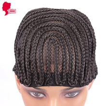 5 Pieces/Set Cornrows Cap For Easier Sew Ins Weaving Cap With Braids Wig Cap Less Stress On Your Natural Hair Free Shipping(China (Mainland))