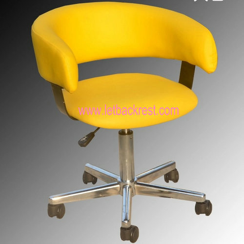 Leather small household chair puter chair Staff Chair