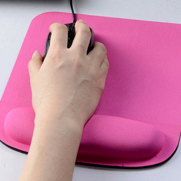 Thicken Square Mouse Pad Comfy Wrist For Optical / Trackball PC Mat Mice Pad FreeShipping(China (Mainland))