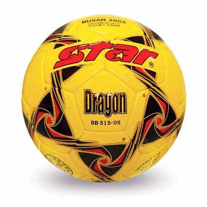 Free shipping! High quality Match use Star Soccer Ball/Football Size 5 SB515-05 DRAGON Gift: gas pin & net bag