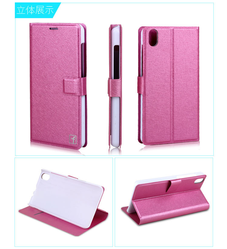 2015 NEW High Quality New Original Lenovo S720 Leather Case Flip Cover for Lenovo S 720 Case Phone Cover In Stock Free Shipping(China (Mainland))