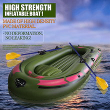 1 Set Portable Inflatable Fishing Boat High Quality PVC Rubber Boat 170x100cm 1 Person Fishing Boat with Paddles 150Kg Loading(China (Mainland))