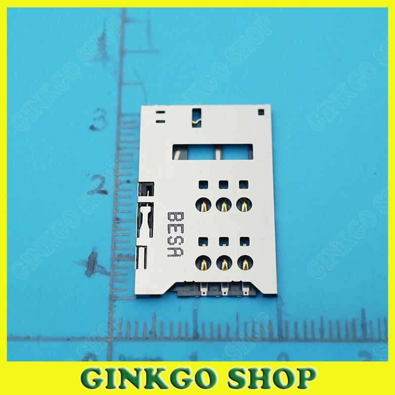 100pcs/lot for Zte z5mini NX402 NX401 NX40X U956 SIM Connector Holder SIM Slot Reader<br><br>Aliexpress