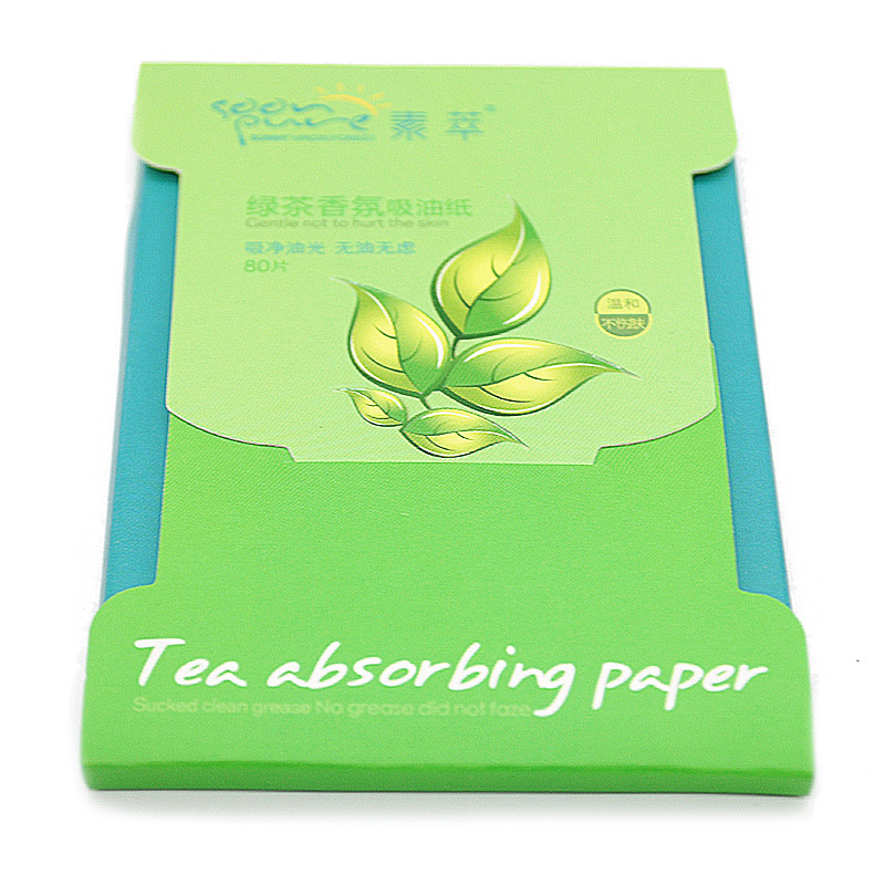 80 sheets/box Oil Absorbing Paper Face Tools Powerful Makeup Cleaning Facial Tissue Face Paper Maquiagem(China (Mainland))