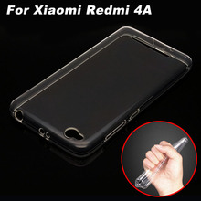 Buy Xiomi Xiaomi Redmi 4A Case Cover Ultrathin Transparent TPU Soft Cover Phone Case Xiaomi Redmi 4A Redmi4A Back Cover Case for $1.49 in AliExpress store