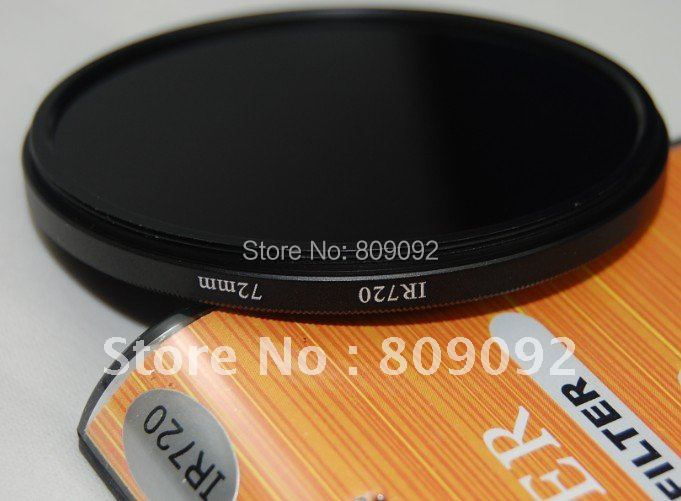 Professional 72mm IR720 Camera Lens Infrared Filters(China (Mainland))