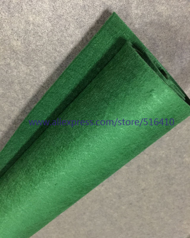 3mm thickness Non woven Felt High Quality 100% Polyester Felt Fabric DIy Craft Felt - Christmas Green Color 1 Yard (91x91cm)(China (Mainland))