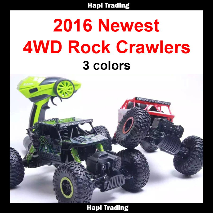 RC Car 2.4G 4CH 4WD Rock Crawlers 4x4 Driving Car Double Motors Drive Bigfoot Car Remote Control Car Model Off-Road Vehicle Toy(China (Mainland))