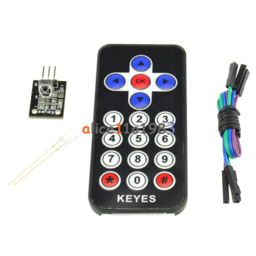 HX1838 VS1838 Infrared Wireless Remote Control Sensor Module Kits(China (Mainland))
