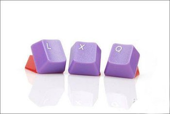 Purple Color 37 Pcs Colorful Keycap replaceable keycaps for Mechanical Keyboard