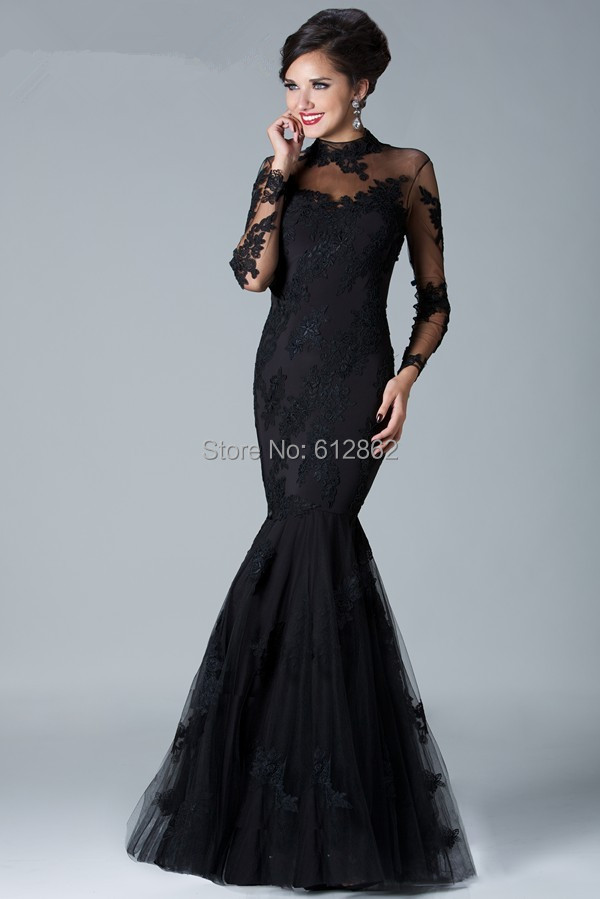 black lace mermaid wedding dress buy elegant long