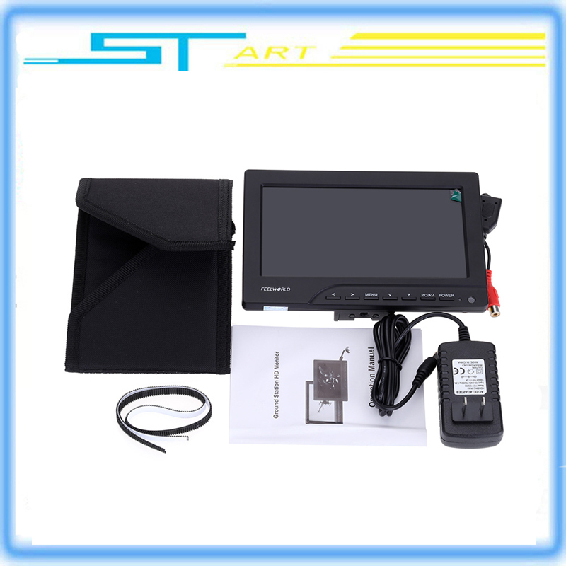 Rc Drone Feelworld FPV-769A 7inch HDMI Out with Sun Shield HD 800*480p FPV Monitor for FPV RC Helicopter Quadcoter DSLR Camera<br><br>Aliexpress