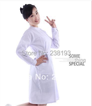 Nurse, hospital nurse wholesale clothing apparel outpatient clinic nurses work clothes(China (Mainland))