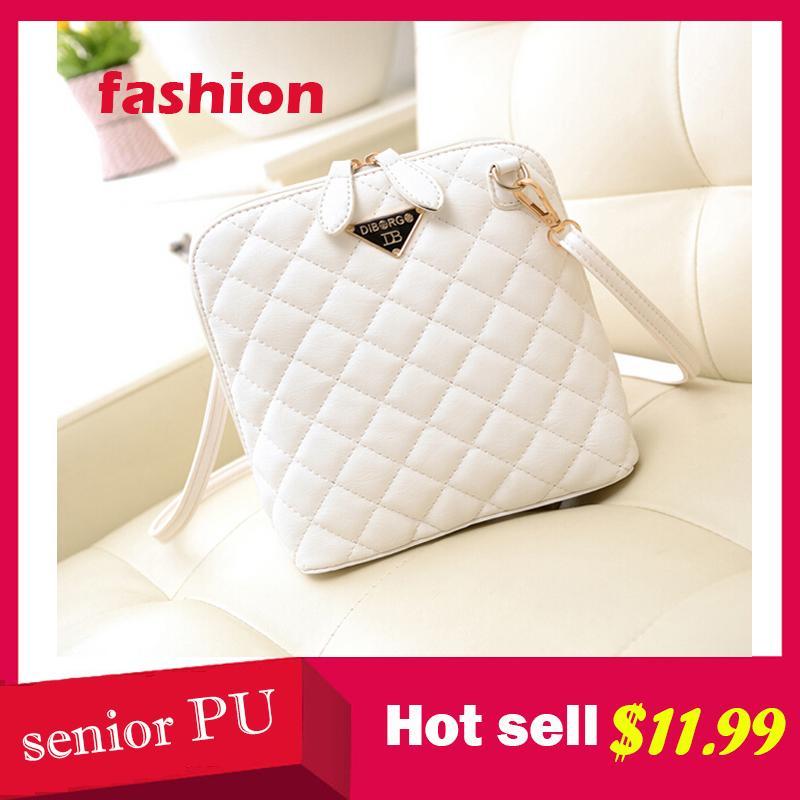 2015 new design !!!Fashion quilted knit women shoulder bag casual PU leather women handbag shopping women bag<br><br>Aliexpress