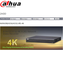 2016 New Original Dahua 8 16CH 1U 4K H 265 font b Network b font Video