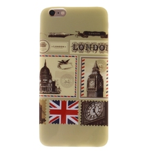 For Iphone6 6S Cases 4.7Inch Hi-Q The Envelope Of London Soft TPU Phone Case Cover For Iphone 6 6s mobile phone shell