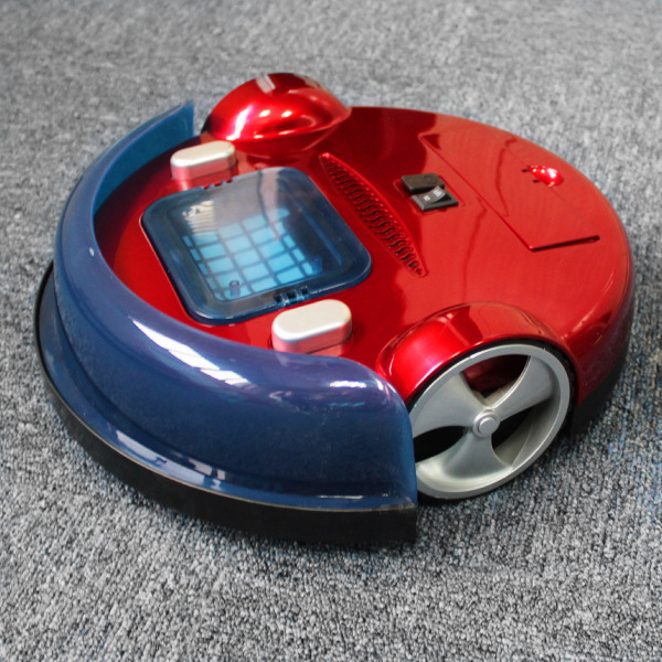 Red Cheap Advanced Robot Vacuum Cleaner,Use For Room Floor Auto Cleaning,Aspirador, Robot To Clearner Home(China (Mainland))
