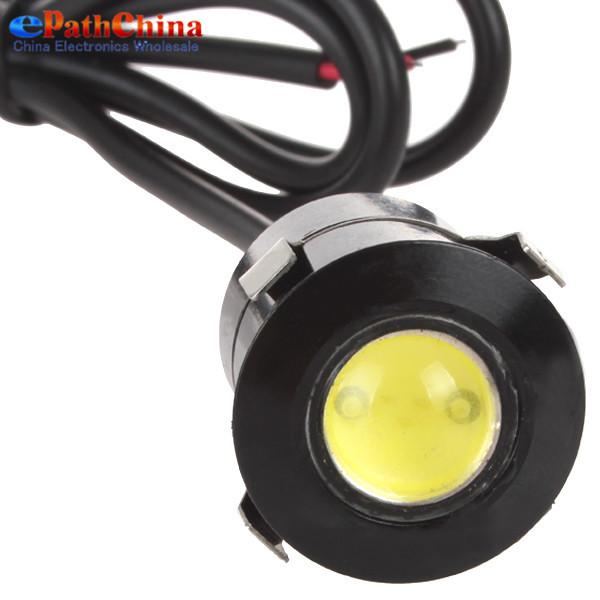 10PCS 12V 7W Reverse Sensor Laser LED Eagle Eyes Light Car Door Light & Waterproof DRL Daytime Running Lights Lamp(China (Mainland))
