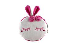 SKU1106 lovely rabbit/panda pattern corduroy change purse portable children coin purse souvenir gift coin purse