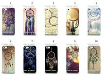 Mobile Phone Cases Wholesale 10pcs/lot Dream Catcher Design Protective White Hard Case For Iphone 5 5s Free Shipping