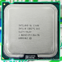 Original Core 2 Duo E7600 CPU Processor (3.0Ghz/ 3M /1066GHz) Socket 775