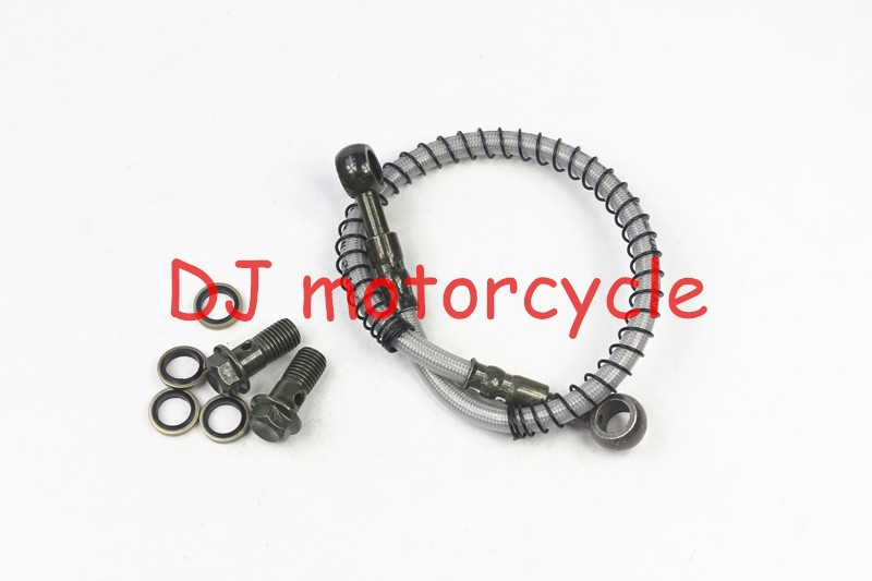 400mm dirt bike hydraulic brake hose tube with 10mm banjo
