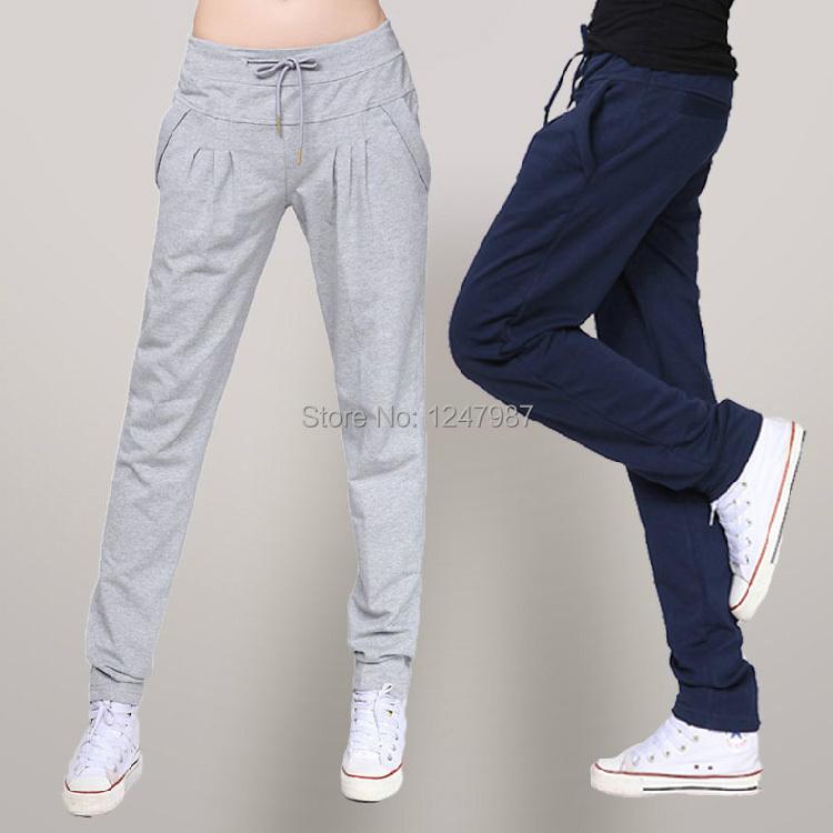 Hot Sale 2014 new Autumn loose sport pants women casual harem long trousers high quality training yoga Sweatpants XXL XXXLОдежда и ак�е��уары<br><br><br>Aliexpress