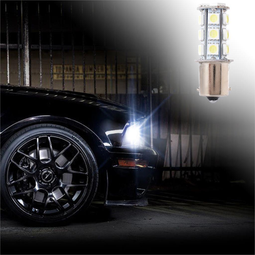 2 pcs voiture style led voiture 1156 5050smd 18 led feux arri re clignotant frein de marche. Black Bedroom Furniture Sets. Home Design Ideas
