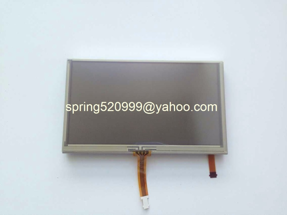 "Free shipping 5.8"" LCD Dispaly Screen LQ058T5DG31 LCD Panel with touch digitizer For Car Auto Parts Navigation monitors(China (Mainland))"