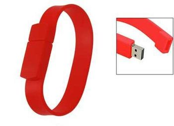 Silicone bracelet usb flash drives,different color for choice,print company logo as promotion gift