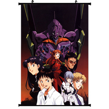 Neon genesis evangelion sexy anime girl silk poster 11.5×20 22.5x36inch picture for Room Decor 012