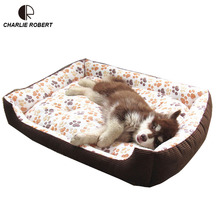 Top Quality Large Breed Dog Bed Sofa Mat House 3 Size Cot Pet Bed House for large dogs Big Blanket Cushion Basket Supplies HP789(China (Mainland))