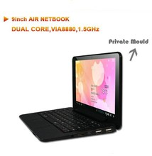 9inch Netbook Android 4.2 laptops 9 inch VIA8880 Dual Core Cortex A9 1.5Ghz 512MB 4GB HDMI WIFI ELAN Notetbook for kids(China (Mainland))