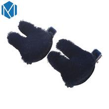 2 יחידות סיכות שיער קליפ מלחציים Hairgrip שיער אביזרים לילדים פו פרווה כוכב ארנב קשת לב Headwear כבנה Barrette(China)