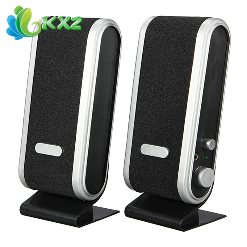 3.5mm USB Jack USB Audio Power PC Notebook Speaker(China (Mainland))