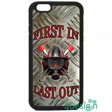 Fit for Samsung Galaxy mini S3/4/5/6/7 edge plus+ Note2/3/4/5 back skins cellphone case cover Firefighter Fireman Fire Helmet