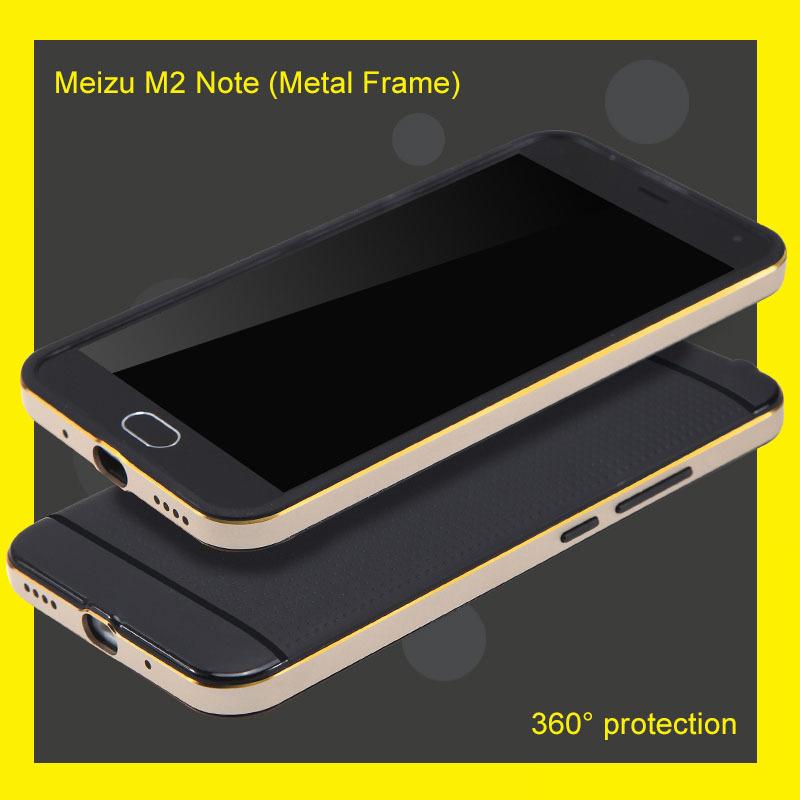 Top quality Case For Meizu M2 Note Metal Frame plu...