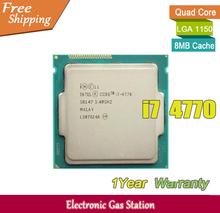 Buy Original Processor Intel i7 4770 Quad Core 3.4GHz LGA 1150 TDP 84W 8MB Cache 22nm HD Graphics Desktop CPU for $286.00 in AliExpress store