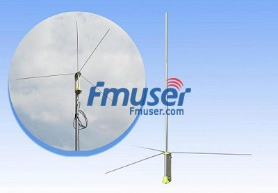 5w 100W 1 2 wave Professional FM Transmitter GP Antenna BNC SL16