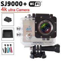 4K Ultra HD 1080P 16MP 2.0″ WiFi Sport Action Camera 170 Degree Wide Angle Diving Waterproof Helmet Video Camcorder
