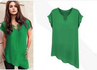 Tropical Blusas Fashion Blusas Femininas 2014 Shirt Women Woman Chiffon Plus Size Women Blouses Camisas Roupas Femininas