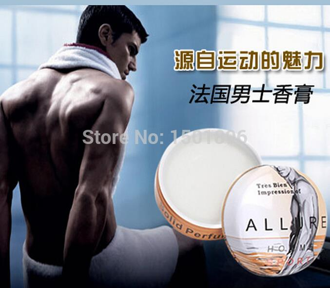New professional Protable Perfume Men Solid Perfumes and Fragrances Original Body Fragrant Ointment for Men(China (Mainland))
