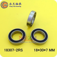 2pcs Bearing 18307 6903/18-2RS 18*30*7 Bicycle bearing Shielded Deep Groove Ball Bearings Single Row ABEC-5