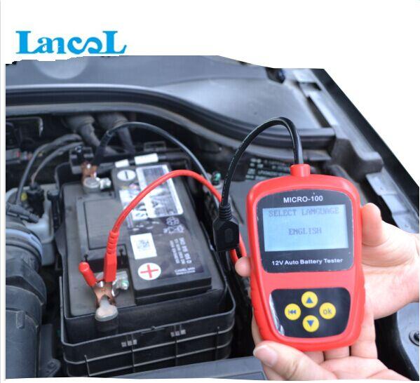 Lancol Digital 12V Car battery tester MICRO-100(China (Mainland))