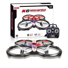 2016 New Syma X6 Drones Super Ship 2.4G 4CH 3D Continuous Roll RC Quadcopter