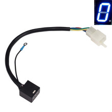 Motorcycle Accessory Blue LED Universal Digital Display Gear Indicator(China (Mainland))