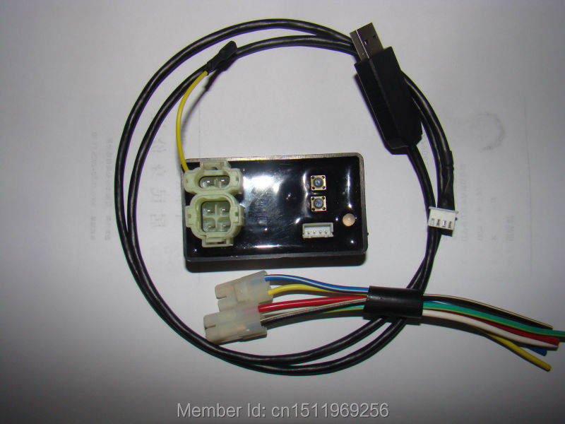 Universal modified motorcycle igniter Racing Motorcycle digital adjustable DC electric CDI with USB induce&copy other Ignition(China (Mainland))