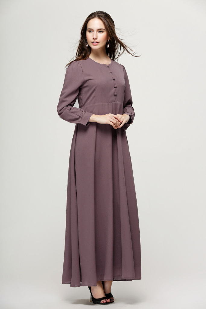 Simple Muslim Women Dress  Women Dresses