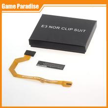 Original New E3 flasher E3 Nor flash Clip Suit Flex Cable For PS3(China (Mainland))