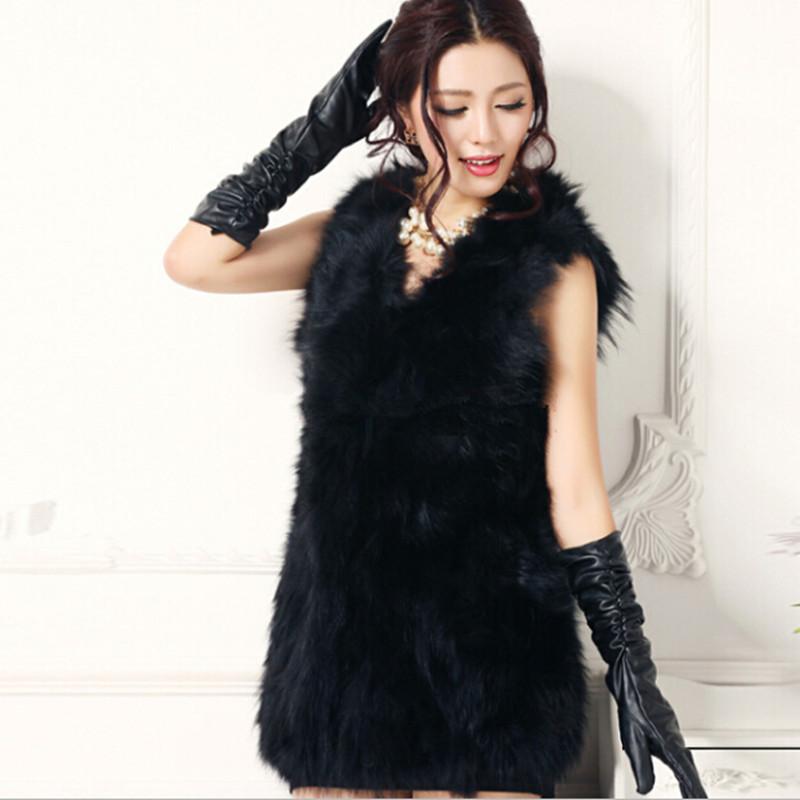 2014 New Arrival Spring Winter Fashion Real Genuine Raccoon Dog Fur Vest Natural Fur Coats For Women Plus Size Jackets WholesaleОдежда и ак�е��уары<br><br><br>Aliexpress